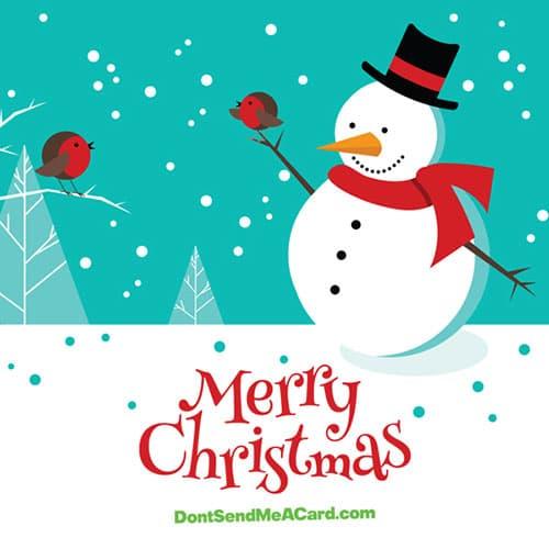DontSendMeACard.com | Select a Christmas card design