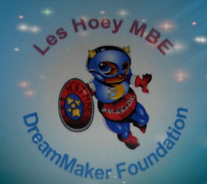 Les Hoey MBE DreamMaker Foundation eCards