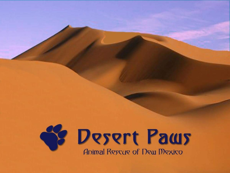 Desert Paws Inc. Animal Rescue of New Mexico (USA) eCards