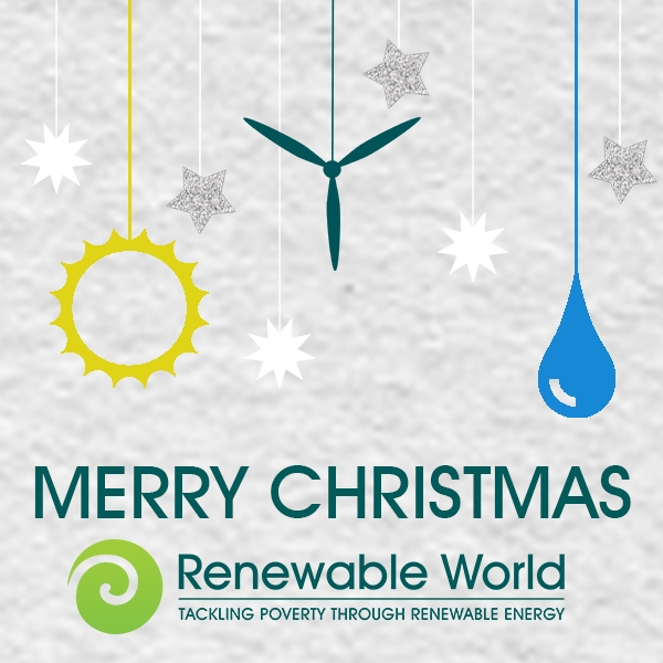Send a renewable energy themed Christmas e-card eCards