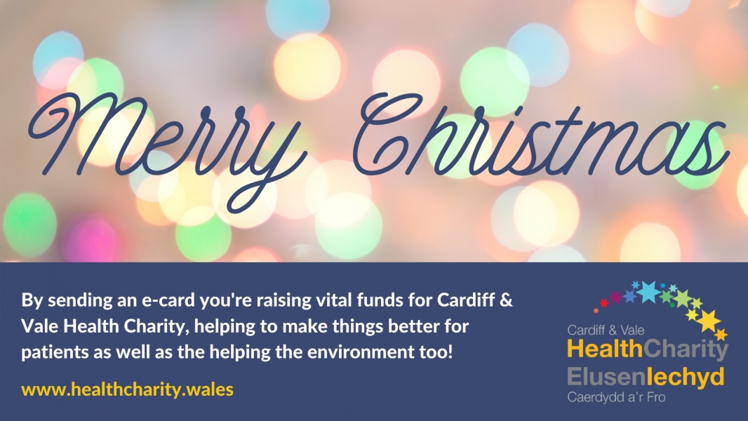 Cardiff & Vale Health Charity Christmas Card Appeal 2019 eCards