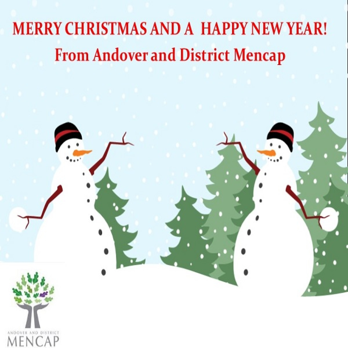 Send a card with Andover and District Mencap eCards