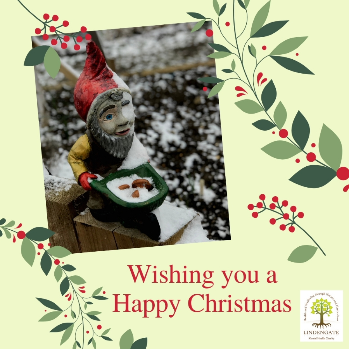 Christmas Card from Lindengate Mental Health Charity eCards