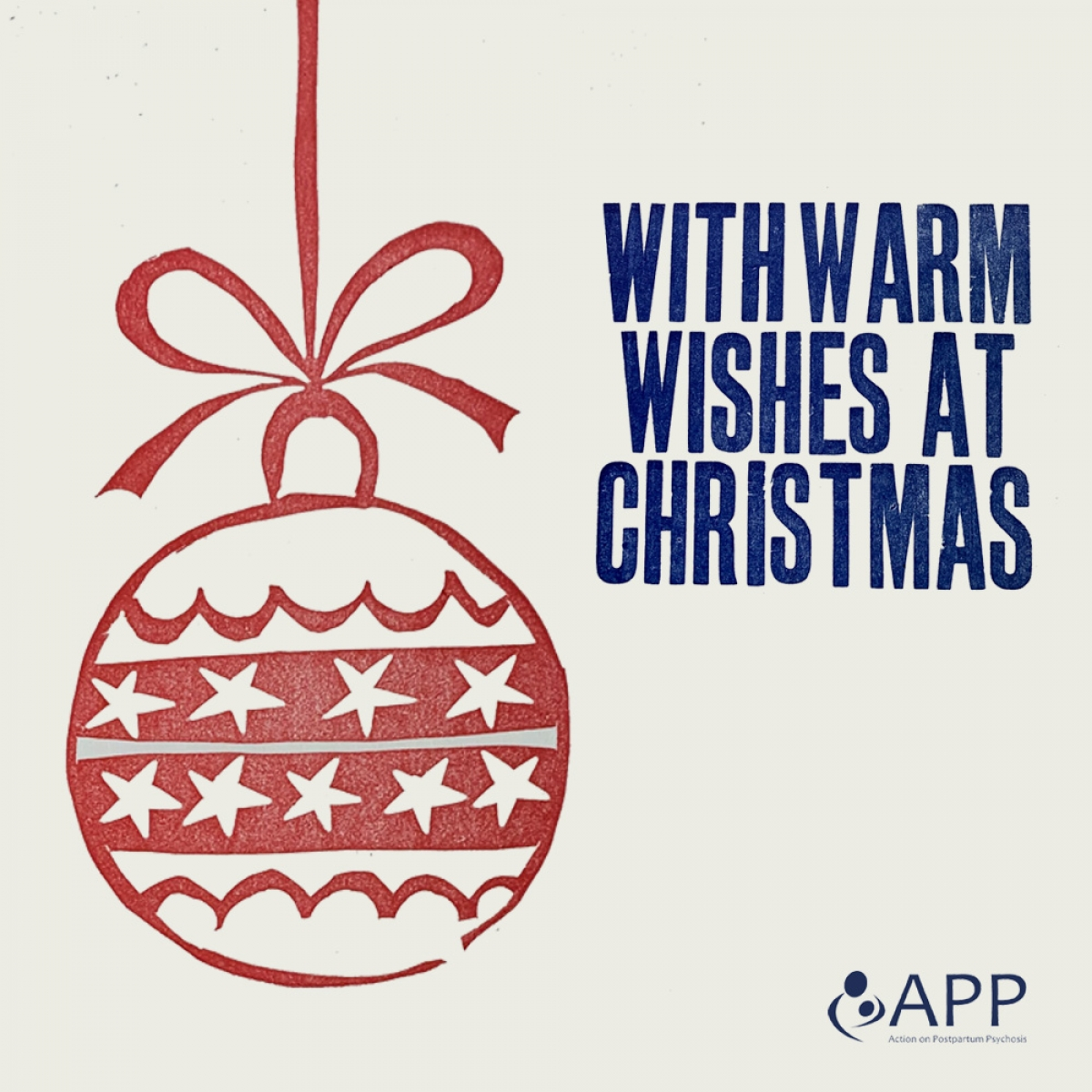 Send festive e-cards for Action on Postpartum Psychosis eCards