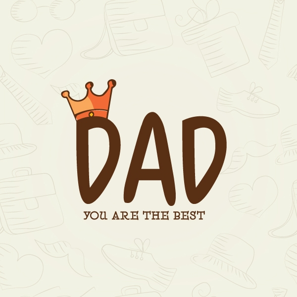 Send a Word Forest Father's Day E-Card eCards