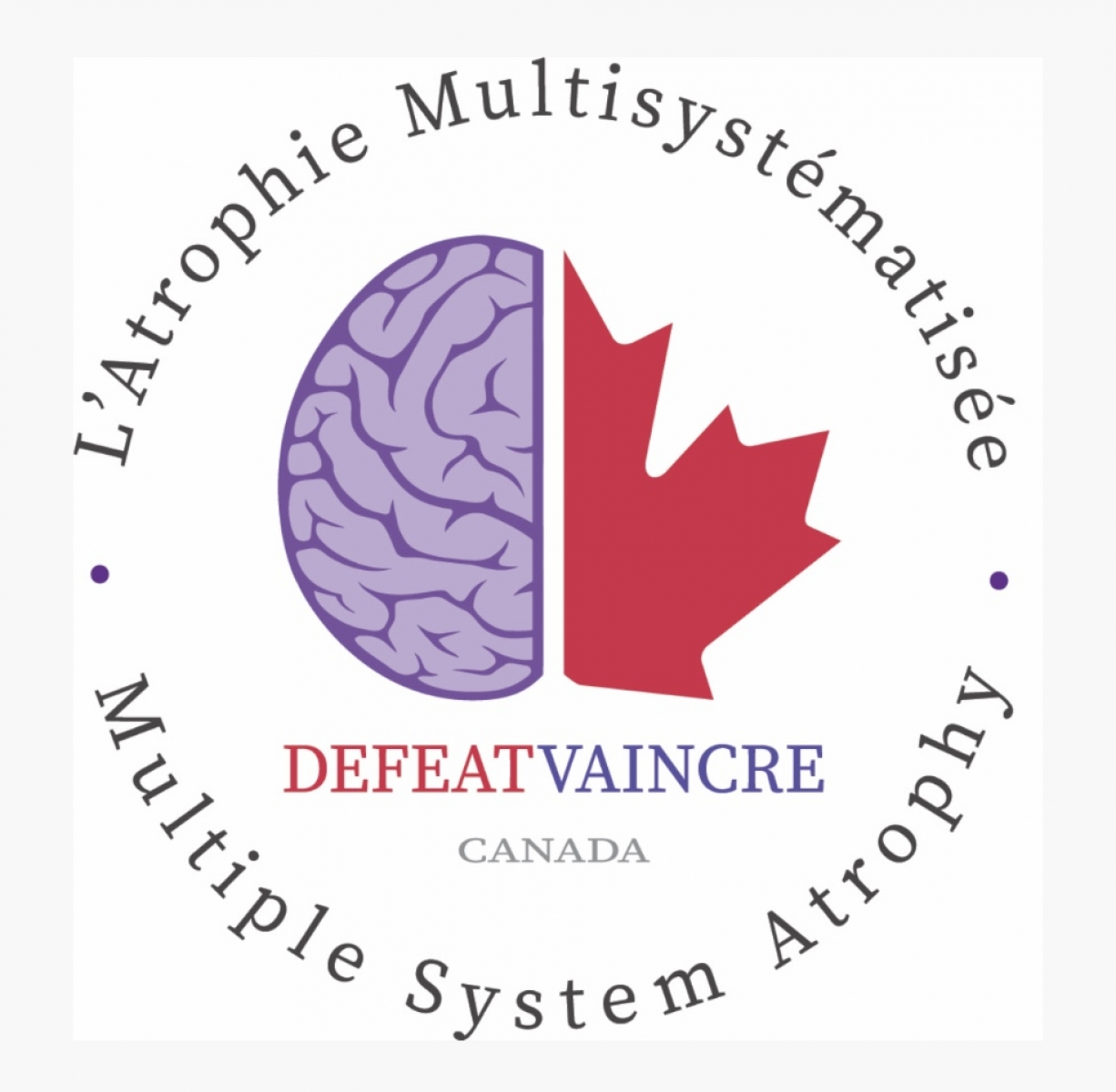 Defeat Multiple System Atrophy Canada - Vaincre l'AMS Canada eCards