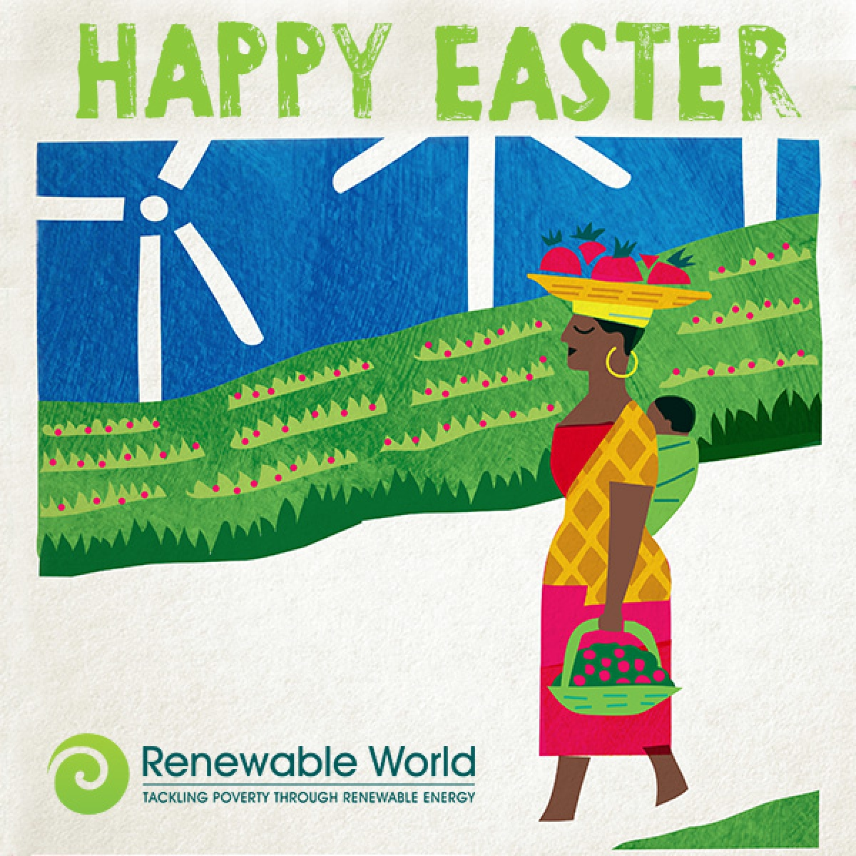 Send a Renewable World Easter e-card eCards