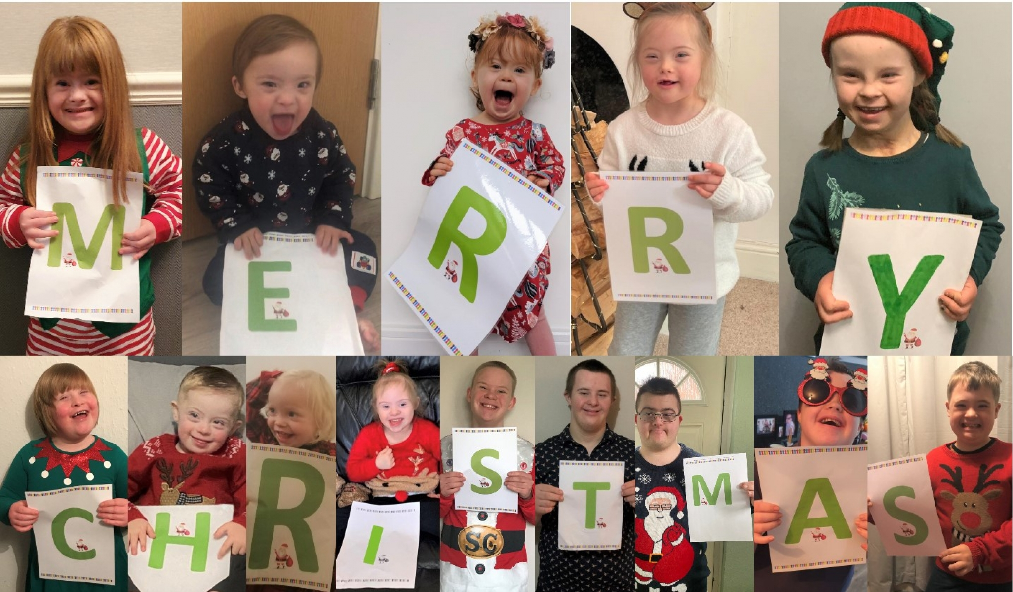 Cheshire Down's Syndrome Support Group Christmas Card eCards