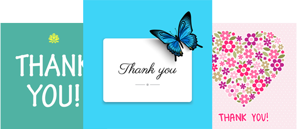 Send Thank You eCards – Cost Goes To Charity | DontSendMeACard.com